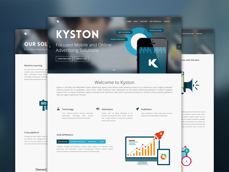 keyston website design